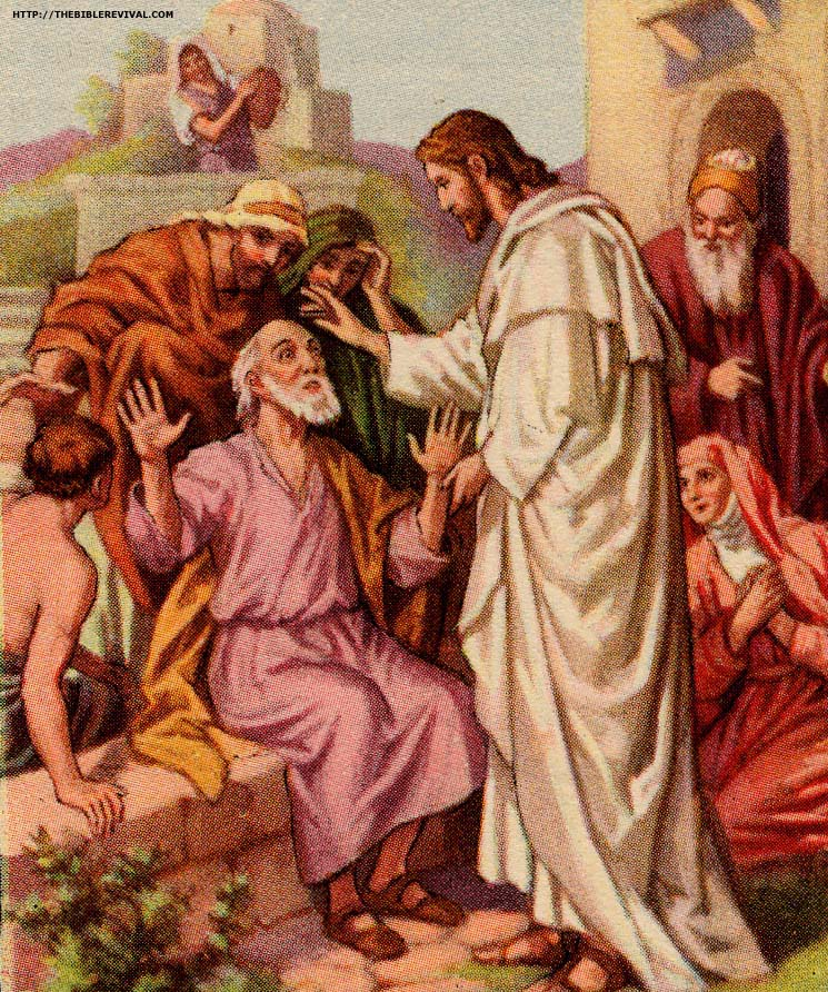 clipart of jesus healing - photo #44